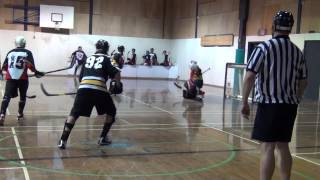 Surrey Rangers vs. Centurions - Period 2 + Overtime (02/24/13) Ball Hockey Videos Skills Tricks