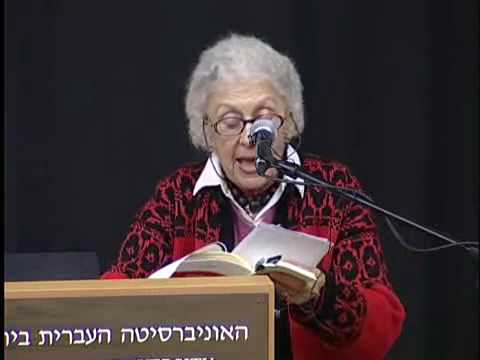 Contemporary Yiddish Poets Read From Their Poetry