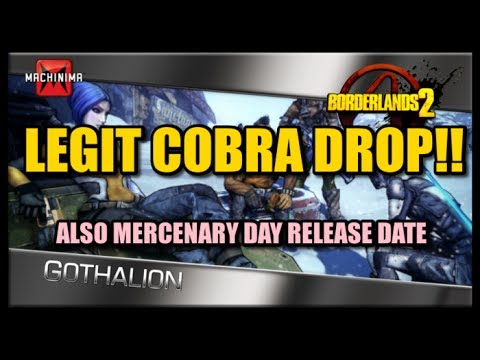 A COBRA DROPS LIVE ON VIDEO LEGIT! Also Mercenary Day Headhunter Pack 3 Release Date