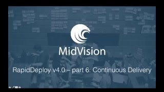 RapidDeploy v4.0 - Part 6: Continuous Delivery for WebSphere with SVN, Jenkins and RapidDeploy