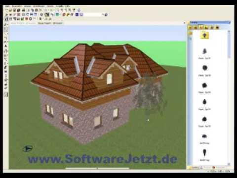 vox bauplaner pro cad software architektur youtube. Black Bedroom Furniture Sets. Home Design Ideas