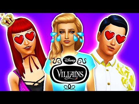 😍PRINCE CHARMING FALLS IN LOVE WITH ANASTASIA?!❣️ The Sims 4 Disney Villains Challenge #6