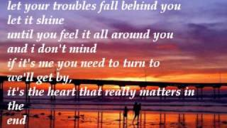 Little Wonders - Rob Thomas - Lyrics on Screen - (HQ)