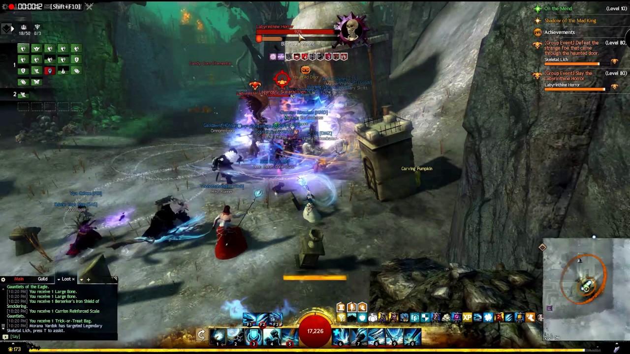 Lich vs Horror (Guild Wars 2) - YouTube