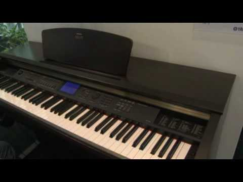 yamaha digital piano arius ydp v240 youtube. Black Bedroom Furniture Sets. Home Design Ideas