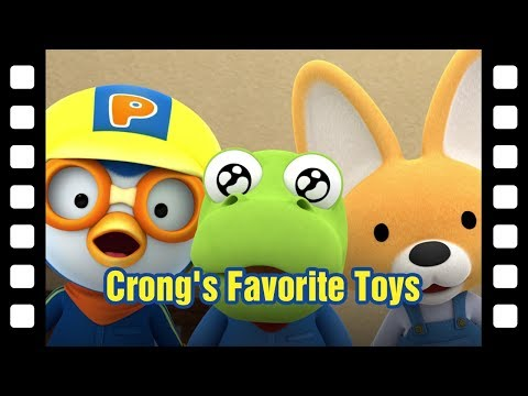 #41 Crong's favorite toys! (30min) | Kids movie | Animated Short | Pororo mini movie