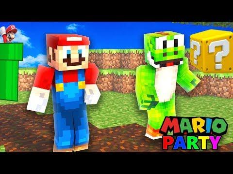 Minecraft MARIO Party   Wer wird gewinnen ?