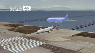 Asiana 214 Boeing 777 Crash Full Animation + Air Traffic Control Recording 2013