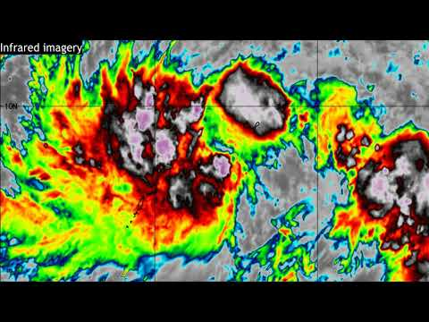 Tropical Storm Surigae Expected To Intensify - Update 1, April 14, 2021