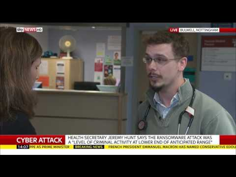 NHS Cyber Attack: How A GP Surgery In Nottingham Is Coping
