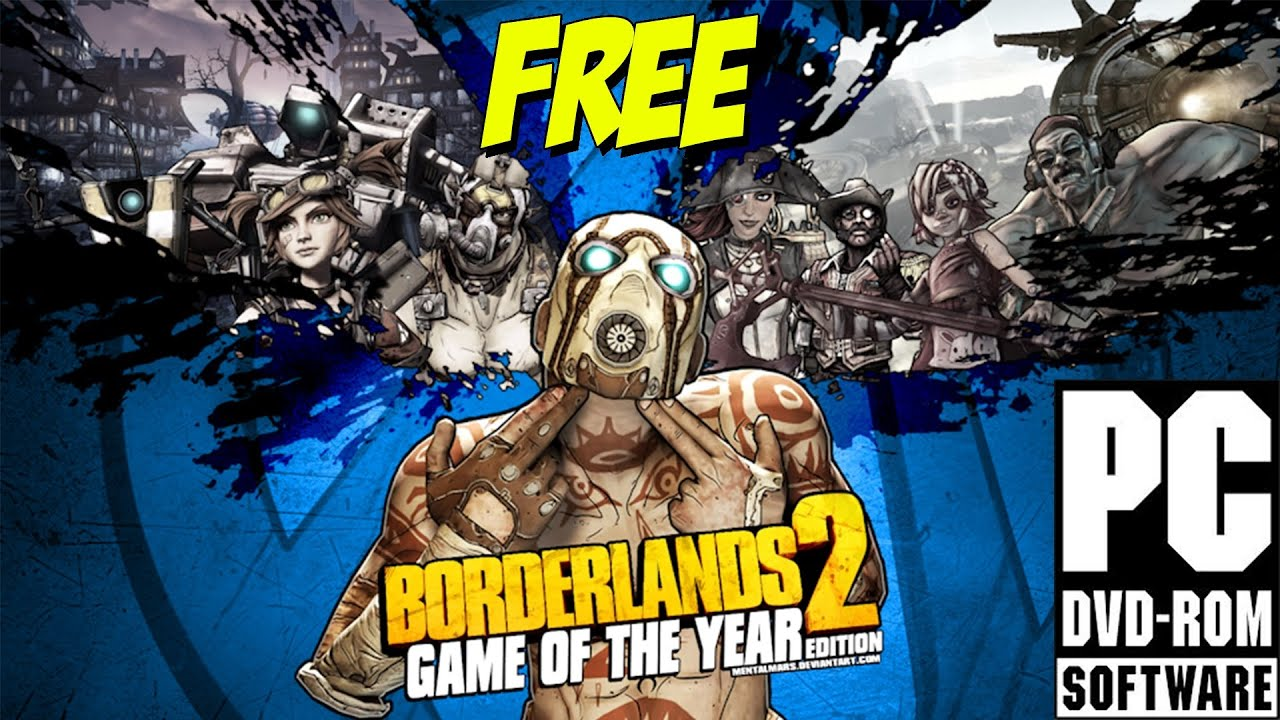 borderlands 2 game of the year edition download