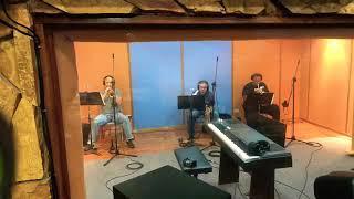 Grabación de trompetas salsa de la buena, con los maestros: LUIS AQUINO, JANDUCLERC, DAVID PIRO ROD.