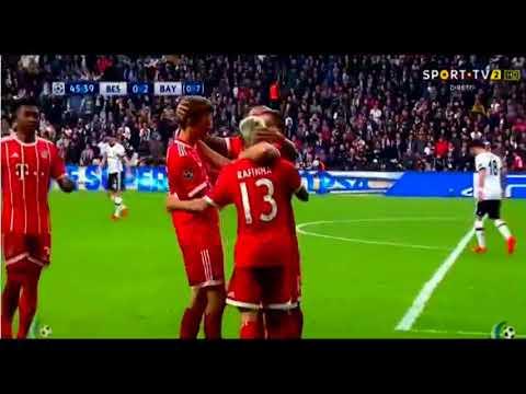 Download Besiktas vs Bayern Munich 1-3  Highlights - Goals 14-3-2018 HD