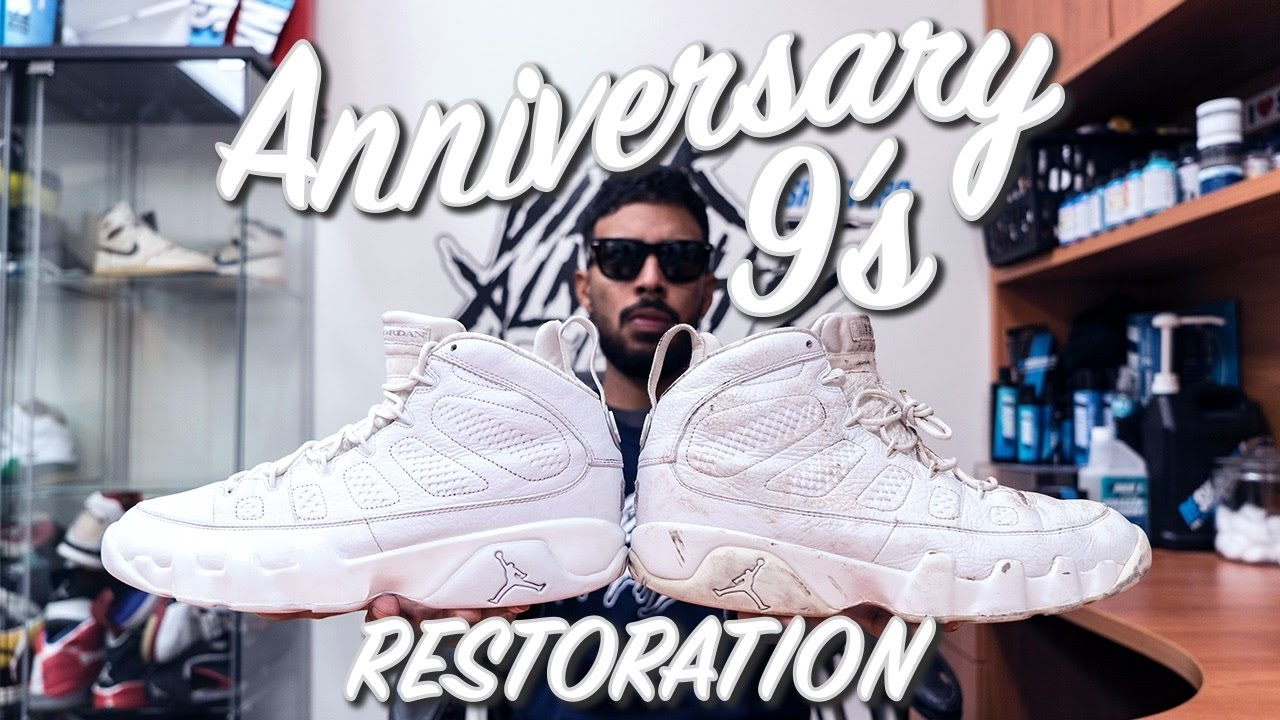 83ee3d795bdf Restorations with Vick - Air Jordan Anniversary 9 s Restoration ...