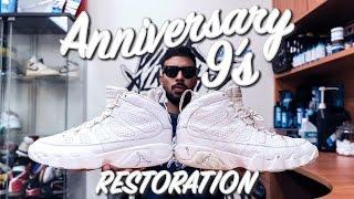 Restorations with Vick - Air Jordan Anniversary 9's Restoration