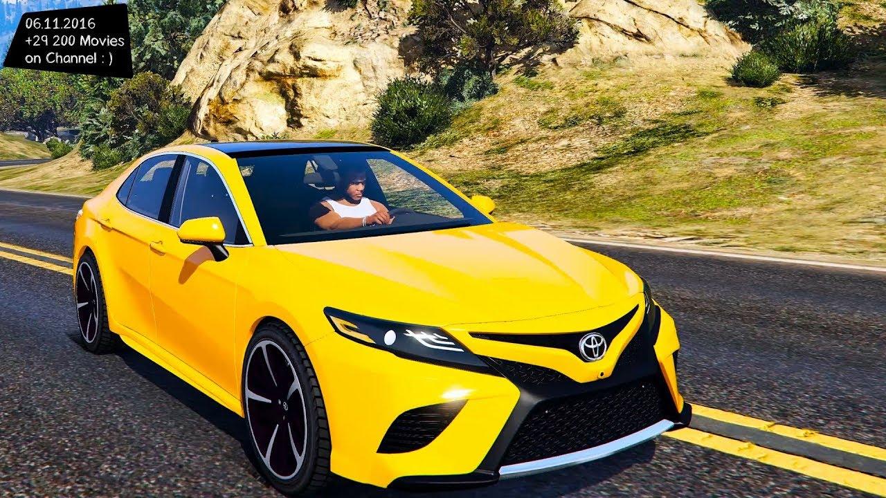 Camry Xse 2017 >> 2018 Toyota Camry XSE Grand Theft Auto V , VI - future - YouTube