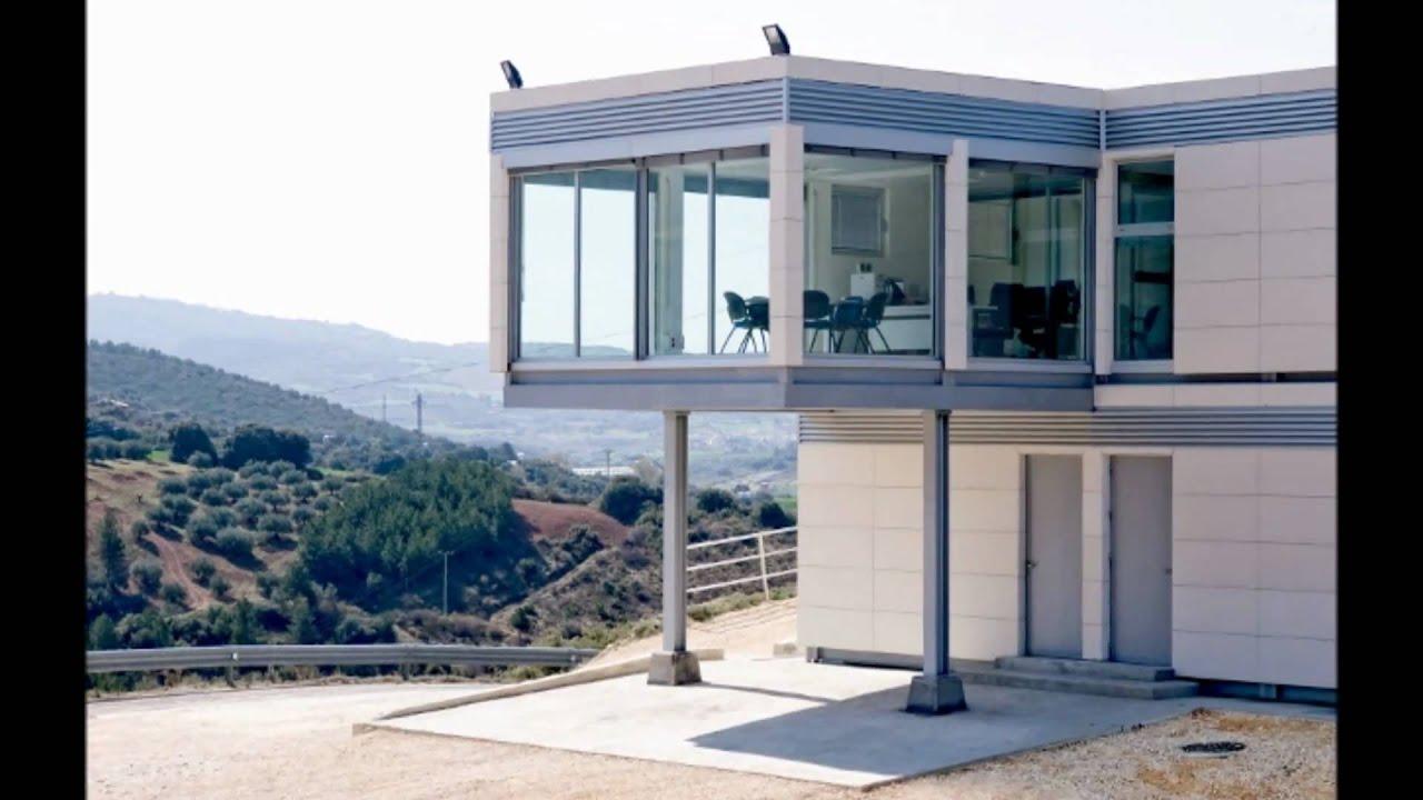 Edificios y oficinas prefabricadas modulares www for Fotos de casas prefabricadas