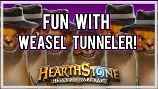 Fun with Weasel Tunneler! (Breaking the Game)