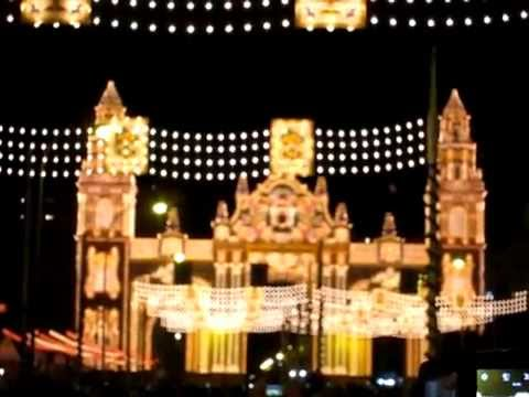 Alumbrado iluminaci n portada feria de sevilla 2015 youtube - Iluminacion sevilla ...