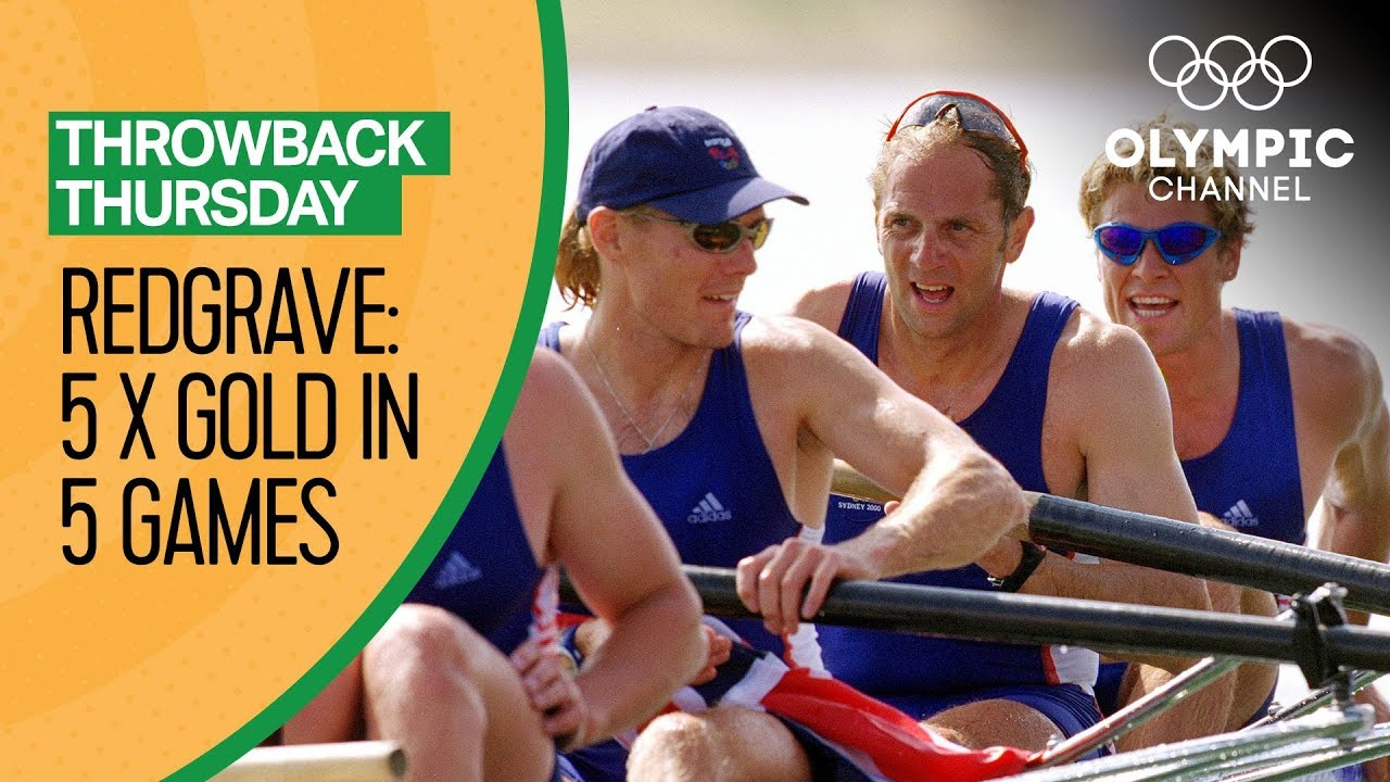 Redgrave's Fifth Gold Medal in Five Olympic Games   Throwback Thursday