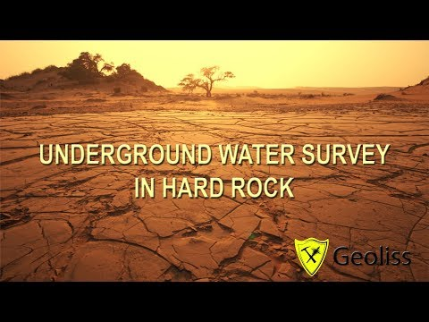 Efficient water survey technology in hard rock