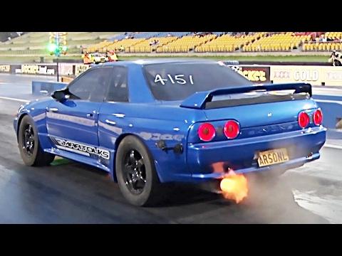 BRAND NEW 1,000 Horsepower GTR Goes 8's! - YouTube