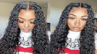 VERY DETAILED Frontal Wig Install| BEGINNER FRIENDLY|Yolissa Hair |Esha Lace Glue Janet Collection
