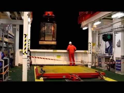 1 minute on the offshore vessel 'Seven Viking'