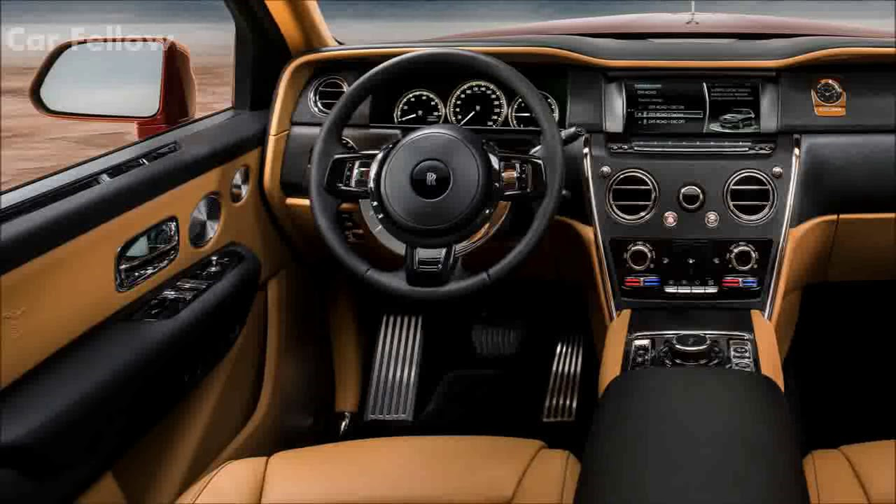 325000 Rolls Royce Cullinan Interior Design Features Preview