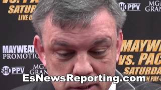 Teddy Atlas Changes Mind On Winner Of Mayweather vs Pacquiao - EsNews