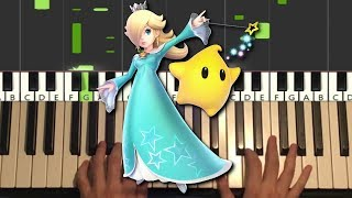 Rosalina In The Observatory Super Mario Galaxy Piano Tutorial Lesson