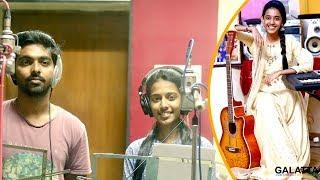 Singer Priyanka sang for Ilaiyaraja! Dream came true!