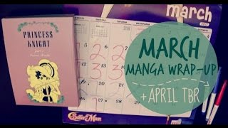 MARCH MANGA WRAP-UP | + April TBR