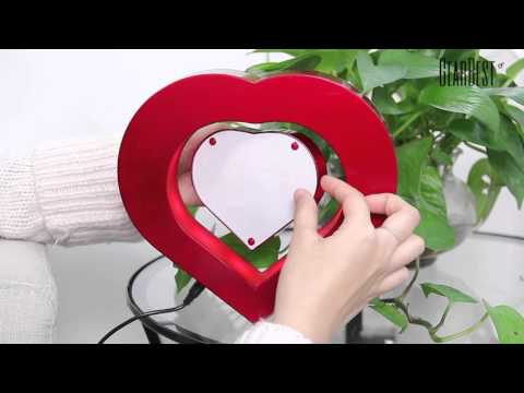 Magnetic Levitation Photo Frame for gifts - Gearbest.com