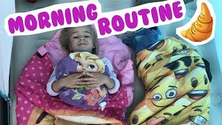 MORNING ROUTINE en VACANCES au camping !!! - KID STUDIO TEST