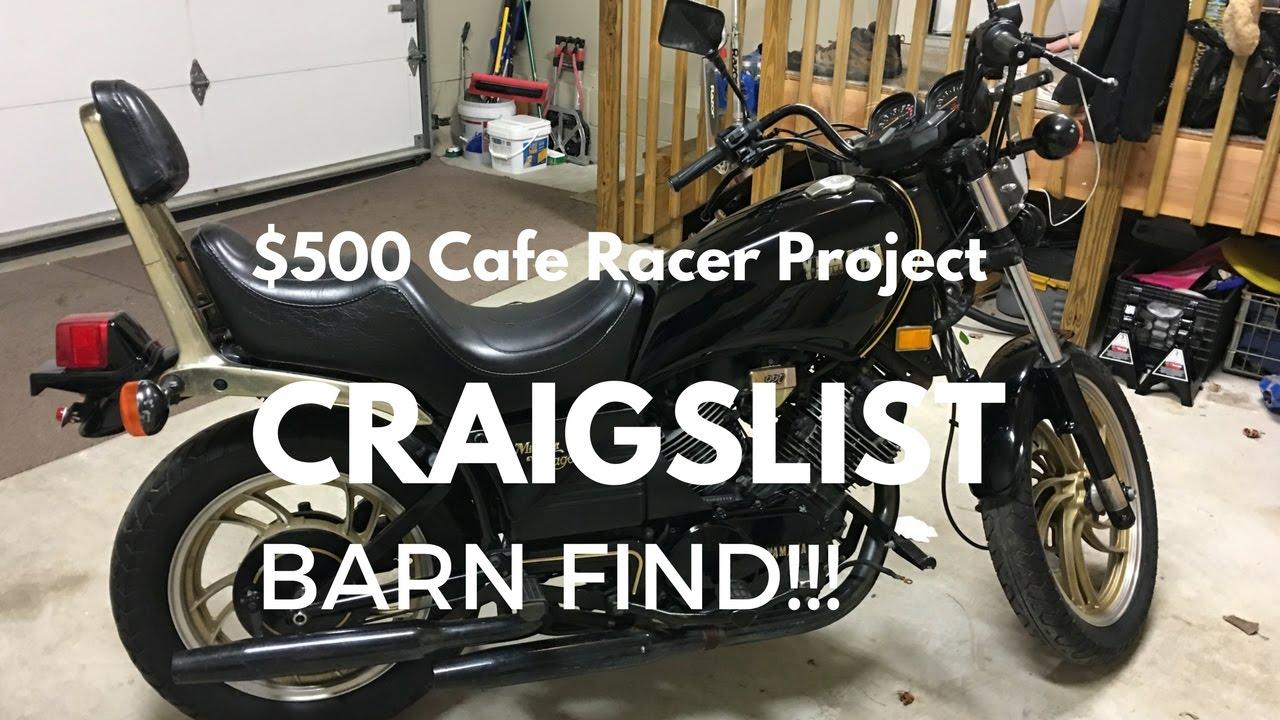 $500 craigslist cafe racer build: teardown!!! - youtube