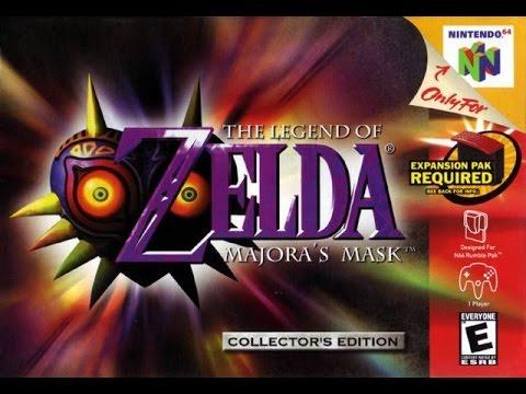 The Legend Of Zelda Majoras Mask N64 2000