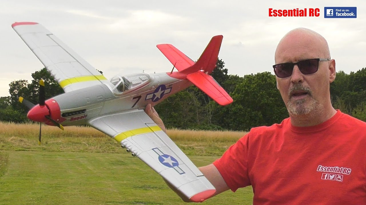 Volantex P-51D Mustang 750mm Wingspan Warbird RC Airplane RTF: ESSENTIAL RC  FLIGHT TEST