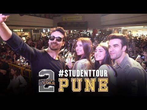 SOTY2   Student Tour - Pune   Tiger Shroff   Tara   Ananya   Punit Malhotra