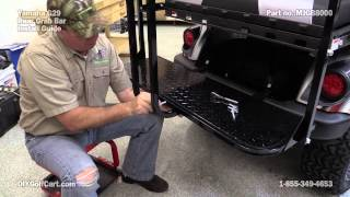 Mad Jax Rear Seat Grab Bar | How To Install On Golf Cart
