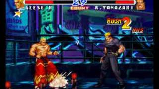 Real Bout Fatal Fury 2: Geese Howard Gameplay