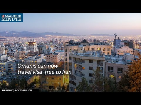 Omanis can now travel visa-free to Iran