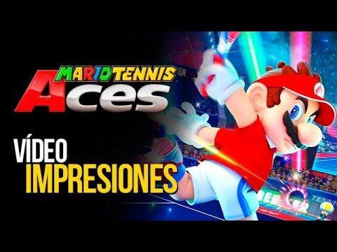MARIO TENNIS ACES: JUEGO, SET y PARTIDO   MERISTATION - YouTube