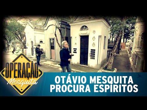 Otávio Mesquita E Caça-fantasmas Procuram Espíritos Em Cemitério | Operação Mesquita (25/06/17)