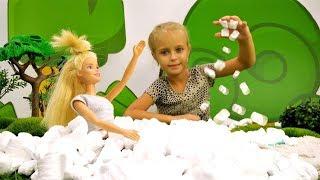 Барби готовит попкорн - Приключения Барби - Мультики для девочек
