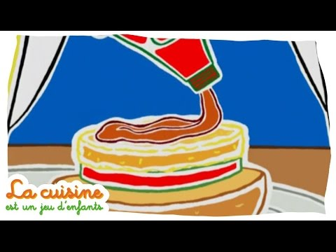 Hamburger De Poisson La Cuisine Est Un Jeu D Enfants Youtube