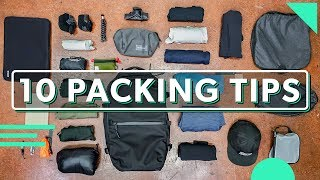 10 Minimalist Packing Tips For Your Next Trip & How To Pack Better For Travel
