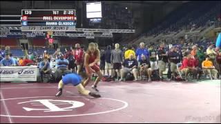139 Champ  Round 2, Ariel Devenport, Oregon vs Hanna Gladden, Alabama