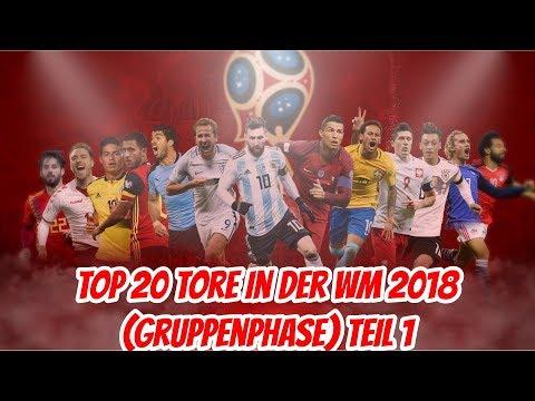 Top 20 Der Schönste Tore der WM 2018 Teil 1 (Gruppenphase) | TopVegeta
