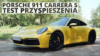 Porsche 911 Carrera S 3.0 450 KM (AT) - acceleration 0-100 km/h